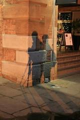 Shadow shot of John and Carol (sooloveselvis) Tags: reflection wheel liverpool northwest albertdock merseyside rivermersey northwestengland billyfury sooloveselvis wheelofliverpool