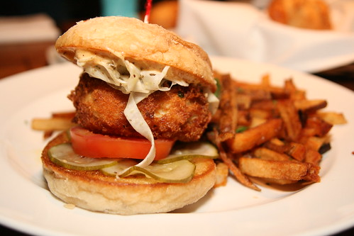 Crab Cake Sandwich at Eleven