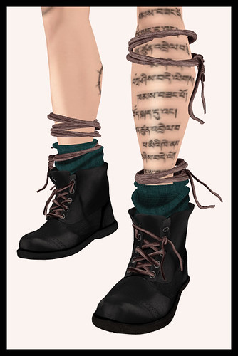 "(Red) Mint - Shoe Repair ""Punk Boot"""