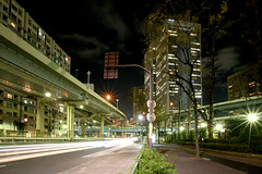 Tanimachi Junction - 11 (Kabacchi) Tags: night tokyo highway  nightview expressway  interchange      jct tanimachijunction ~tanimachijunction~