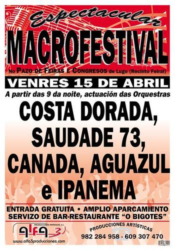 Alfa3 - Macrofestival de orquestras 2011 - cartel