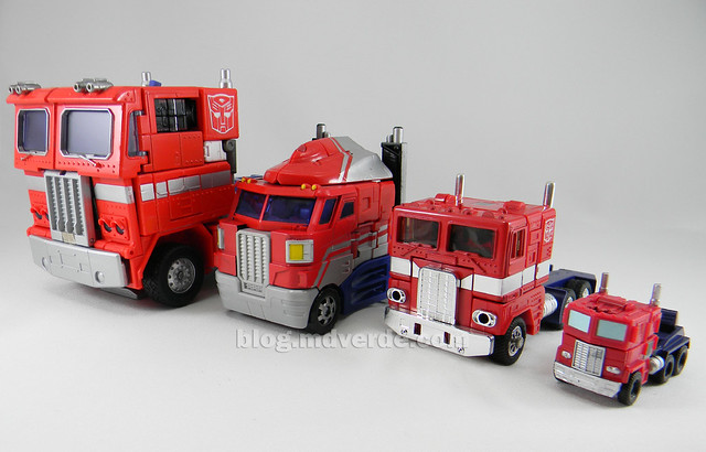 Transformers Optimus Prime Reveal the Shield Legends - modo alterno vs otros Optimus