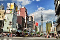 Tokyo Sky Tree. Tokyo, Japan (víctor patiño george) Tags: tokyo tokio tokyoskytree japan asia nippon japon ciudad city tokyocity ciudaddetokio taito vpg victorpatiñogeorge nikon nikond3200 d3200 tamron tamron1024 1024 calle dori street tokiostreet urbanismo urbanism urban foto colors photo