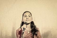 I want to be a star! (Pejasar) Tags: escuelaintegrada talentcontest singer girl antigua guatemala star rising