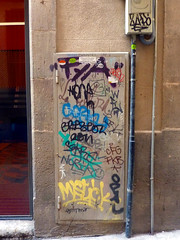 Graffiti in Barcelona 2013 (kami68k -all over-) Tags: barcelona 2013 graffiti illegal bombing tag tags tagging handstyle handstyles fya farlopa cfg fkb sakre