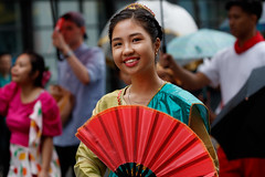 Girl_from_Canada_Day_001 (Besisika) Tags: canada day montreal 2017 fete quebec parade celebration girl fille lady woman outdoor portrait street canon 100400mm smile costume travel happy joy