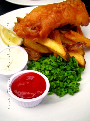 Fish & Chips - The Woolpack, Bermondsey