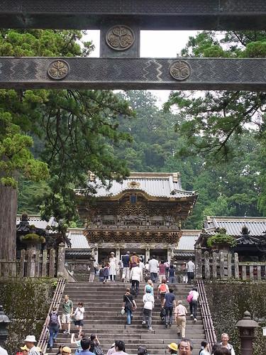 stairway to yomei-mon