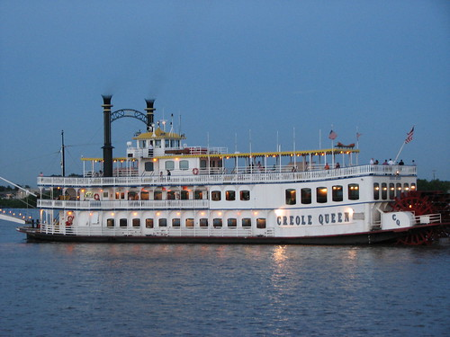 Creole Queen on the Mississippi River