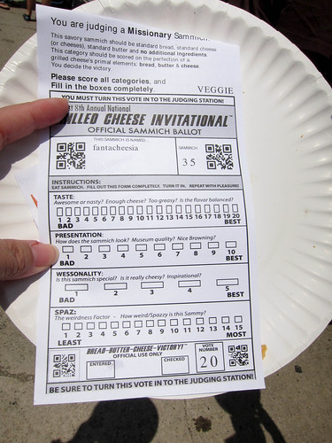 2010 Grilled Cheese Invitational