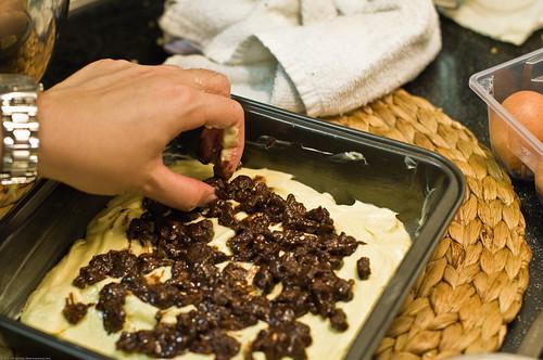Chocolate Pecan Coffee Cake