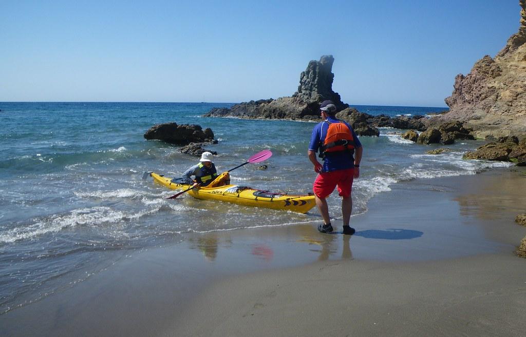 Cabo de Gata en kayak 556
