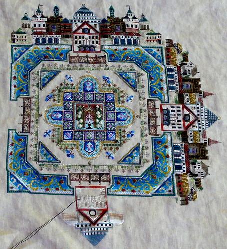 Medieval Town Mandala 062610 full view