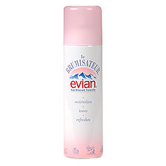 evian water spray