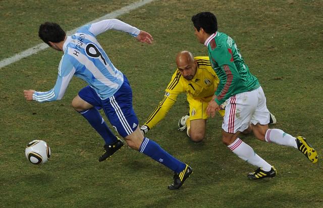 Mundial Gonzalo Higuain Oscar Perez