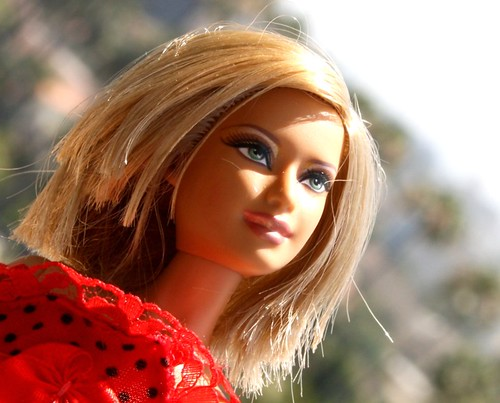 barbie closeup