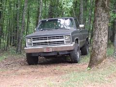 013 (stevenbr549) Tags: chevrolet 4x4 deluxe gray 4wd chevy custom 1985 k10