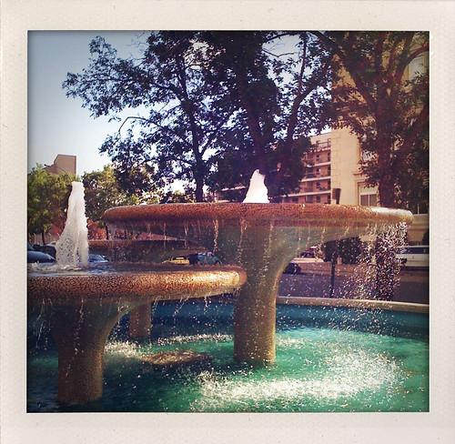 SaskPower fountain