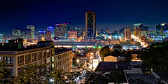 Richmond at midnight (Ty Johnson Photography) Tags: nikon d3000