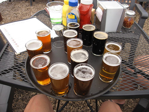 Pagosa Brewing sampler platter
