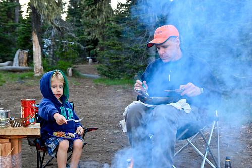 Big Lake camping 004