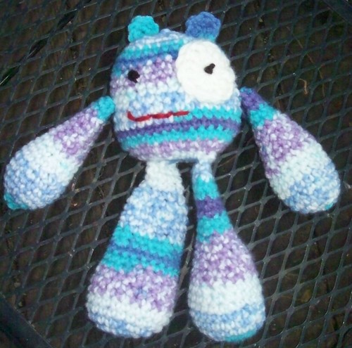 Amigurumi - Bubble Leg Monster by caa161.