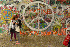All You Need is Love - The Beatles {repost} (Tara Holland) Tags: graffiti prague postcard praha imagine etsy lovelovelove peacesign johnlennonwall allyouneedislove swapbot explored p1080664