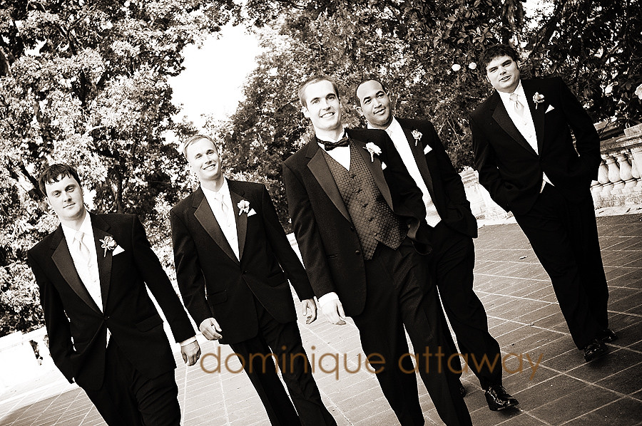 groom and groomsmen uva