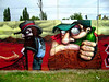 cowboys from hell (mrzero) Tags: from wall cowboys effects graffiti mural hungary character budapest hell southern colored characters redneck dz peris bande cfs mrzero böki fatheat tomsta obieone