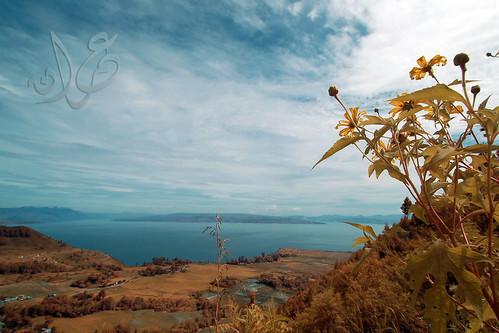 Pemandangan Danau Toba & Balige dari Dolok Tolong