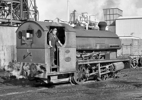Hornet (geoffspages) Tags: geotagged railway steam hornet ncb uksteam peckett bersham geo:lat=53025296 geo:lon=3024969