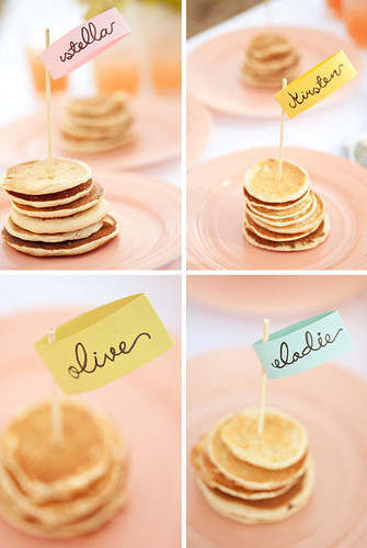 pancake bridal shower 13