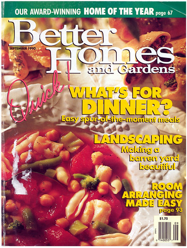 Better Homes & Gardens 1990-09 Cover