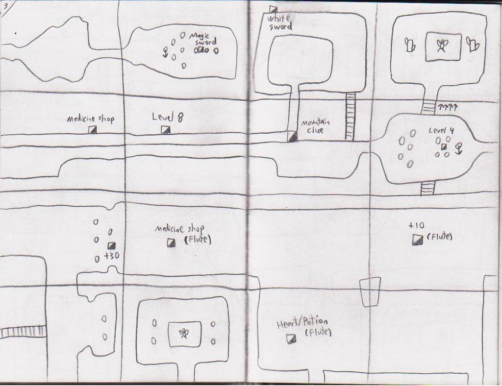 Legend of zelda map level 4