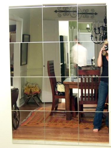 Ikea Trofast Tall Storage Unit ~ UPDATE The mirror got another upgrade  check it out here