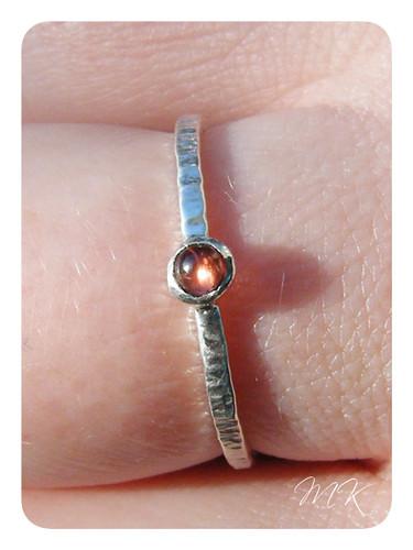 sterling garnet ring 4