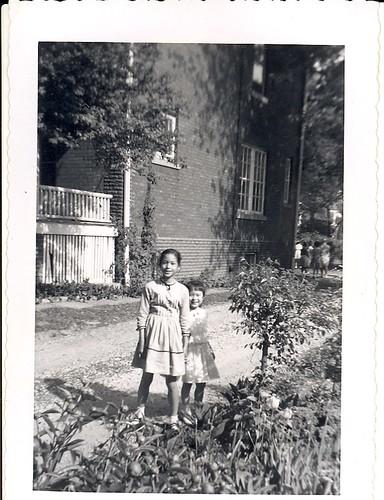 mom & Marlene 1958