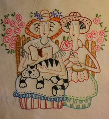 Um bordadinho colorido para alegrar os nimos .... (soniapatch) Tags: embroidery bordado