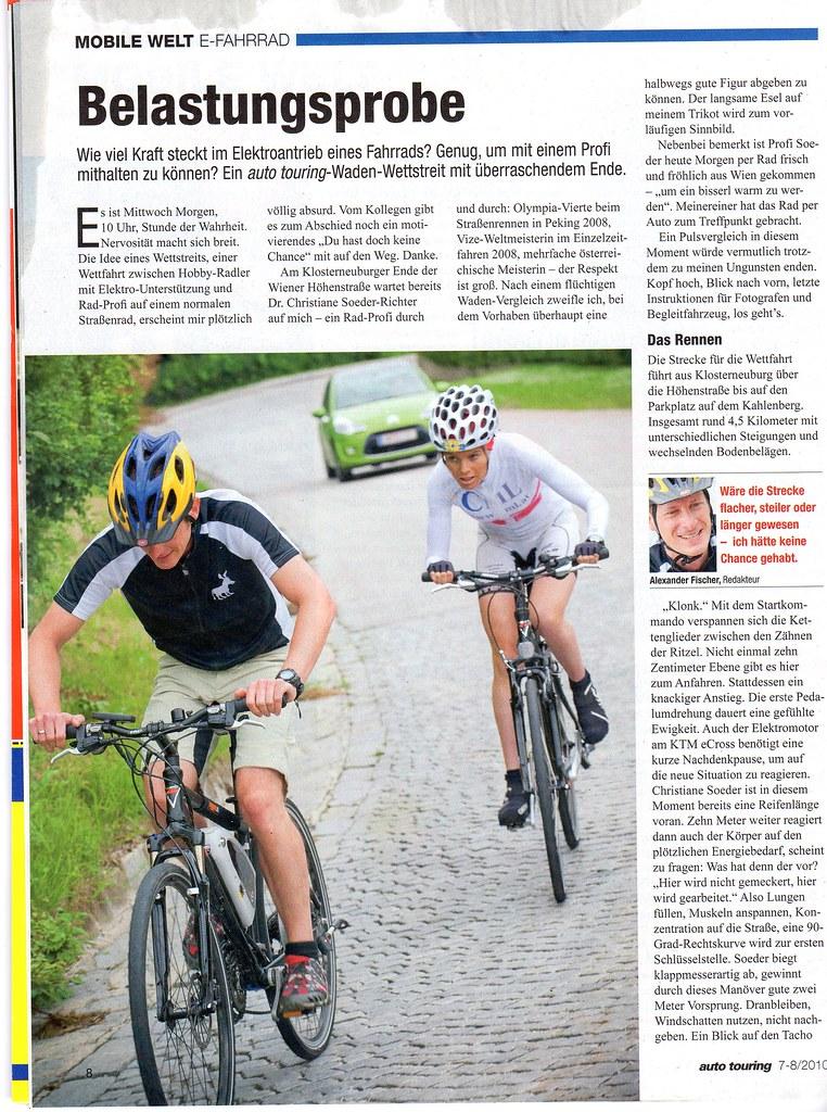 die gschissenen e bikes gehören verboten! [Archiv] Seite 3