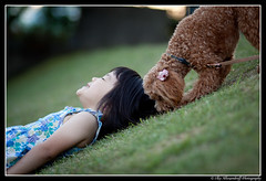 Ayano & Choco (Ilko Allexandroff / ) Tags: light portrait people slr art canon dark photography google interesting emotion good awesome explore more most kobe mostinterest