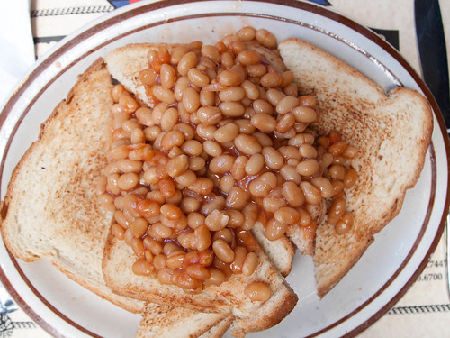 Beans on Toast at The Olde Ship