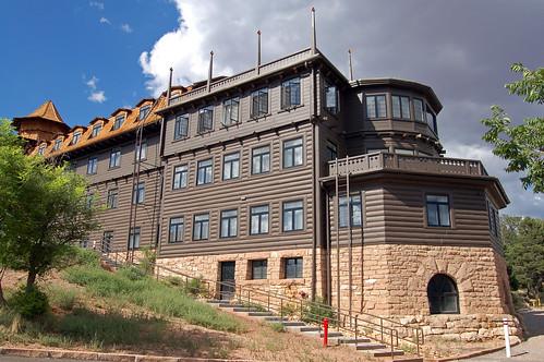travel building history hotel grandcanyon sightseeing historic lodge hospitality southrim fredharvey
