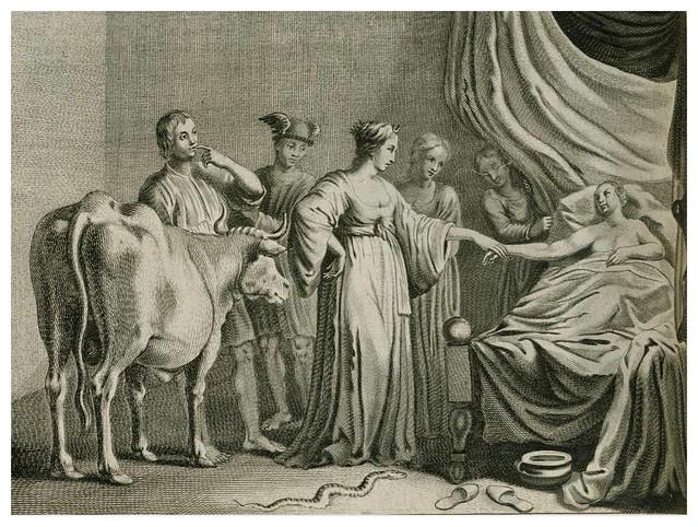 014-Les Metamorphoses d'Ovide  En Latin Et François … 1677