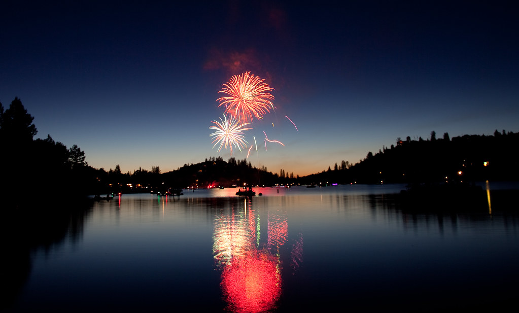 Pine Mountain Lake Fireworks