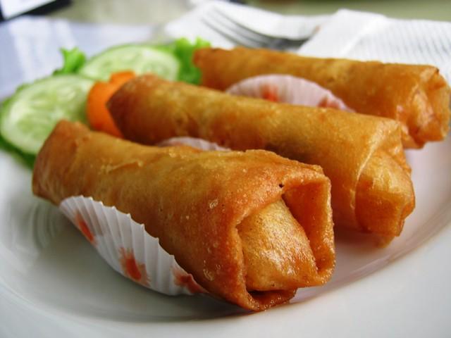Lumpie Ayam Jamur (Chicken Mushroom Lumpia)