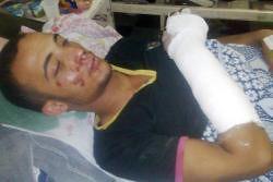 محمد صلاح فى المستشفى