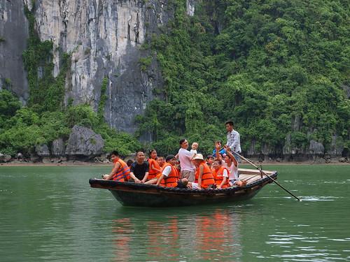 另一團越南的遊客