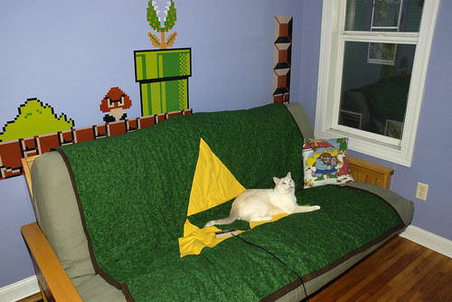 Triforce Blanket