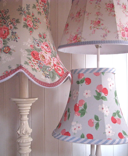Tailored lampshades from theoldlampshed.co.uk