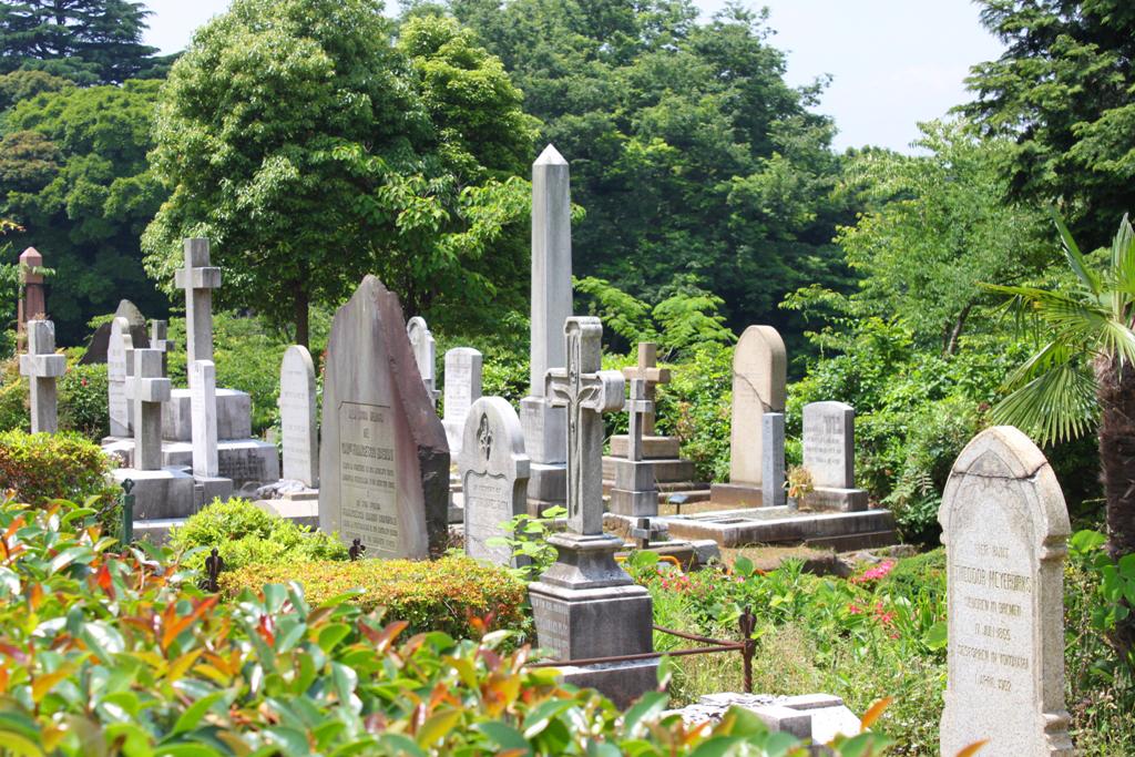 Yokohama Foreigner's Cemetery